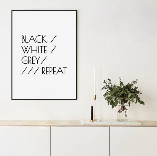 Plakaty Typograficzne Z Napisami Strona 4 My White Type