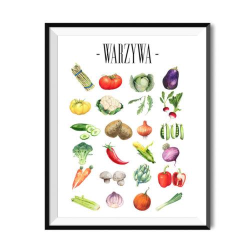plakaty do kuchni � my white type